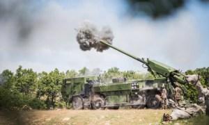 Nexter Caesar 8x8 Self-Propelled Howitzers
