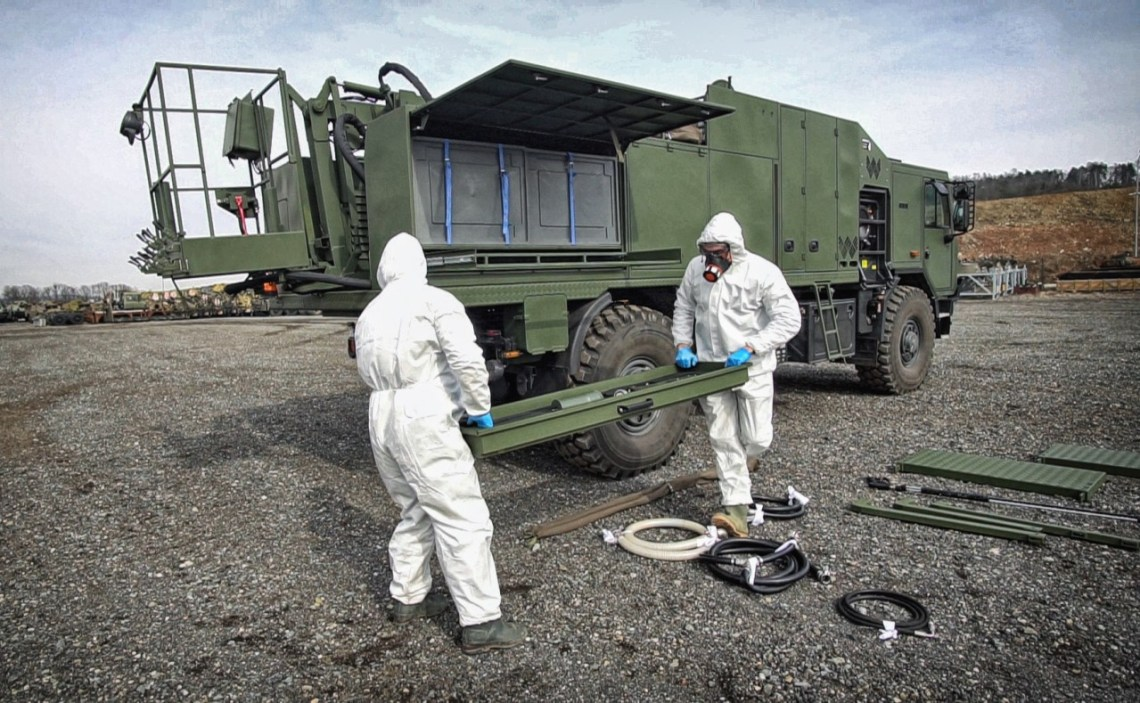 Excalibur Army Decon Vehicle