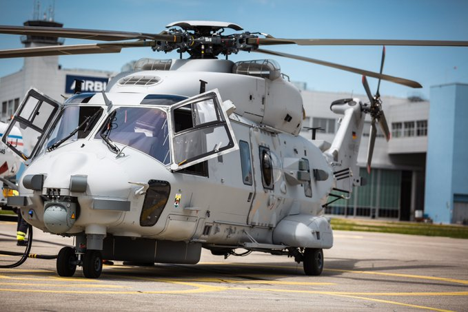 First NH90 Sea Lion Helicopter Delivered to German Navy