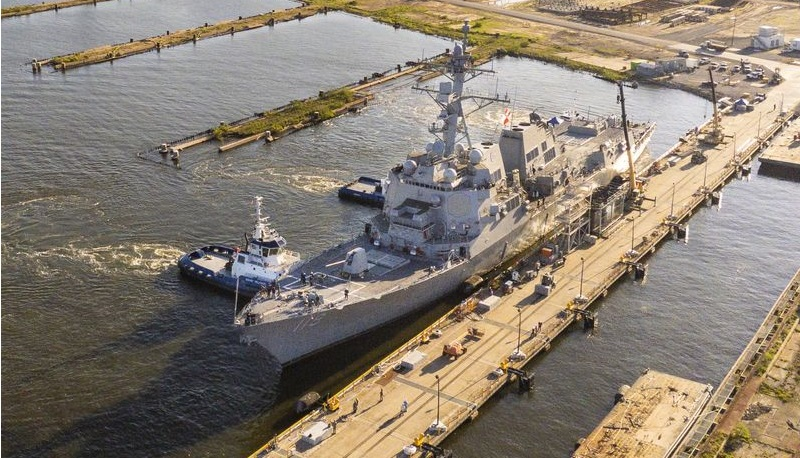 Ingalls Shipbuilding Completes East Bank Reactivation Project