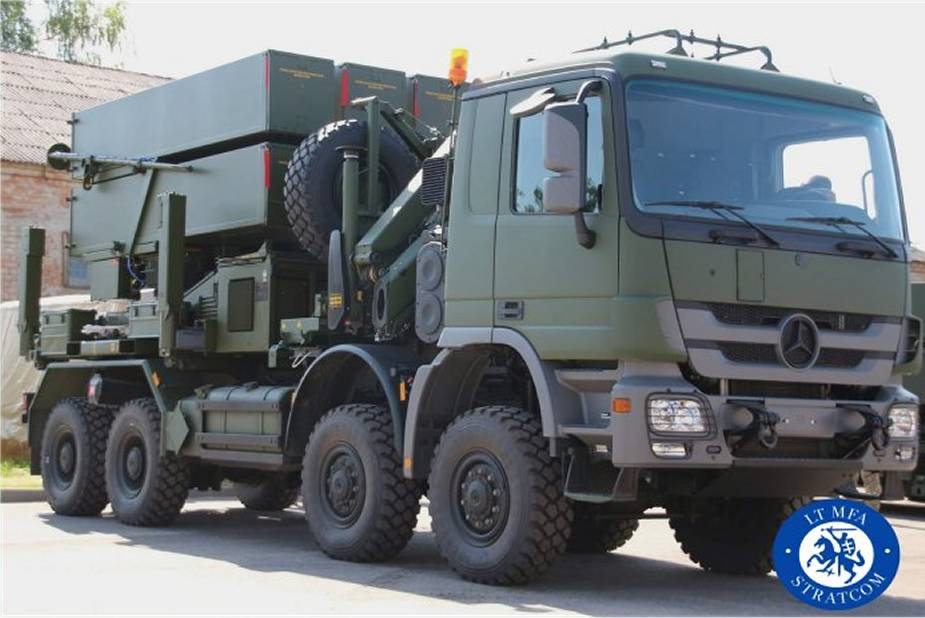 Lithuanian Air Force NASAMS 3 Air Defense Missile Systems