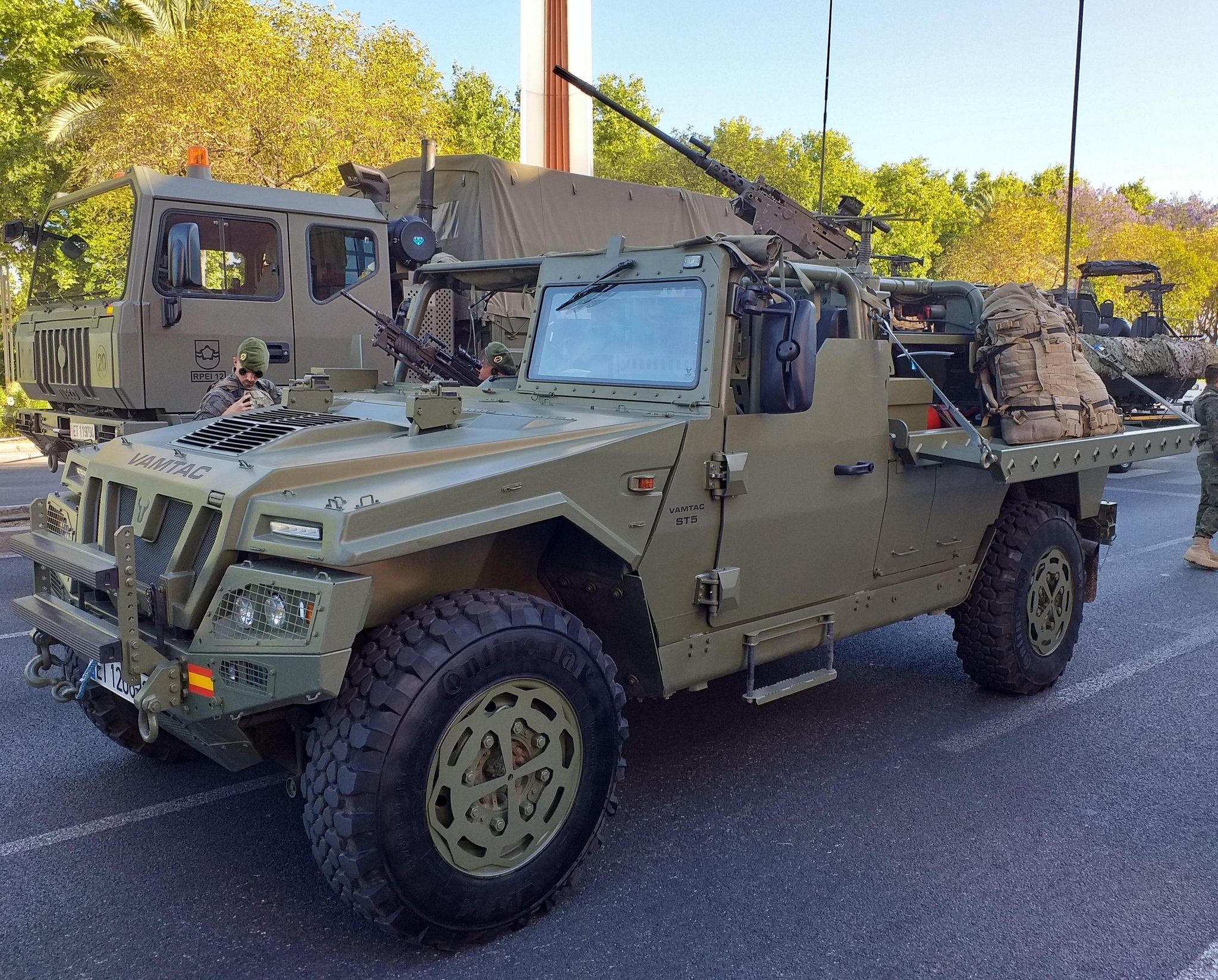 Portuguese Army to Receive VAMTAC ST5 Special Operations Vehicles