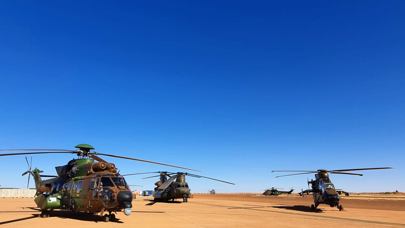 Royal Air Force Helicopters Deployment in Mali Has Extended