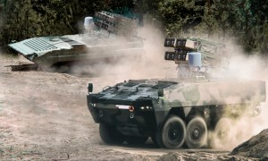 RAFAEL Unveils Multi-Missile Spike NLOS Launcher Configuration on Polish Army's BWP-1 and Rosomak