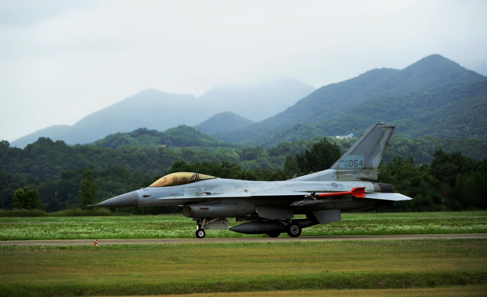 Republic of Korea Air Force KF-16 Multi-Role Fighter