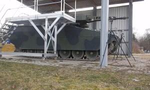 Rheinmetall 30mm Lance Turret Live-Fire Test