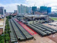 Royal Cambodian Army Received 290 Chinese Military Trucks