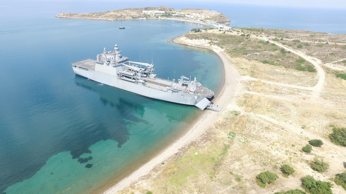 Turkish Navy Bayraktar-Class Landing Ship Tank (LST)