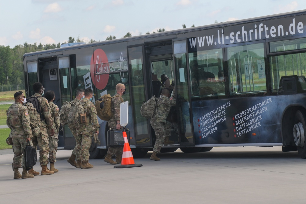 US Army 101st Combat Aviation Brigade Arrives in Germany in Support of Atlantic Resolve