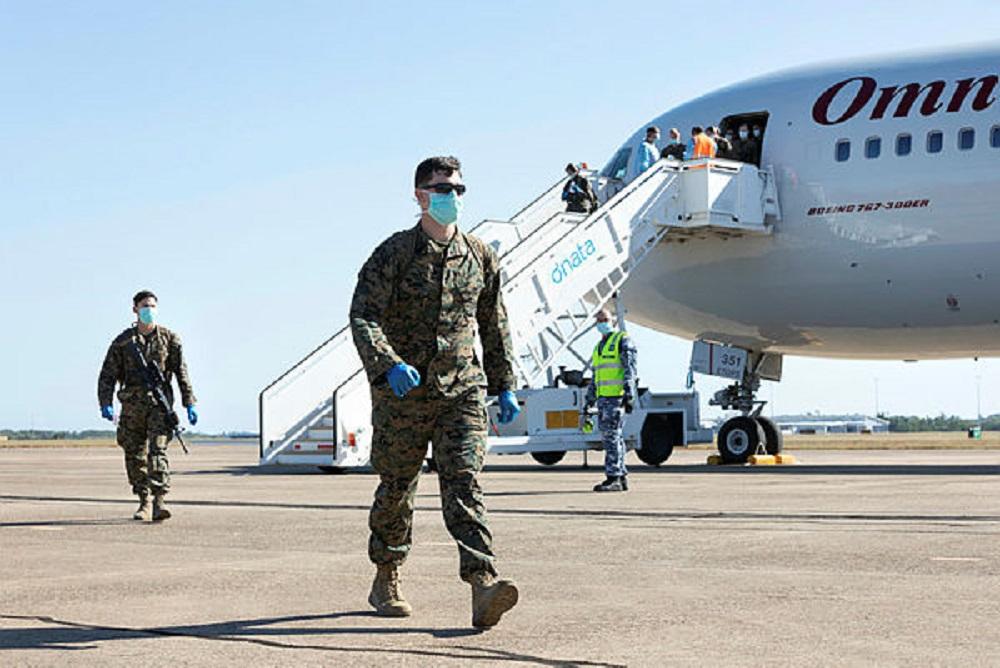 US Marines Arrive in Darwin, Begin 14-Day Quarantine