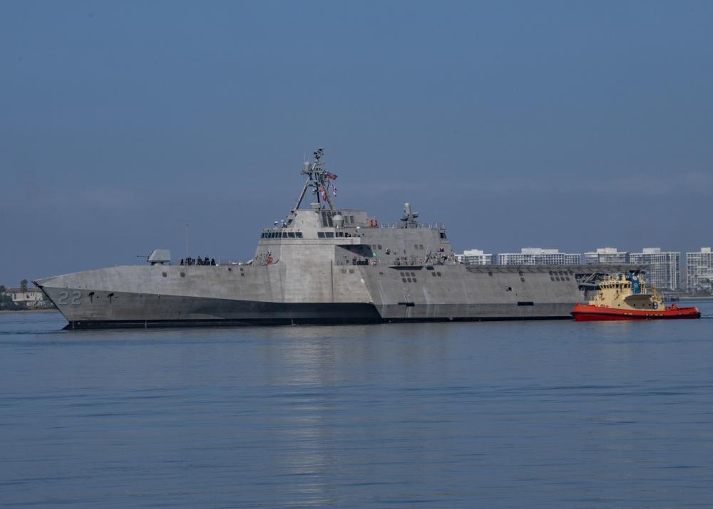 US Navy Littoral Combat Ship USS Kansas City Joins the Fleet