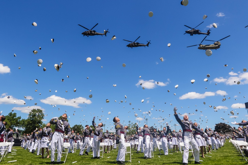 West Point Class of 2020 Graduates in Historic Ceremony
