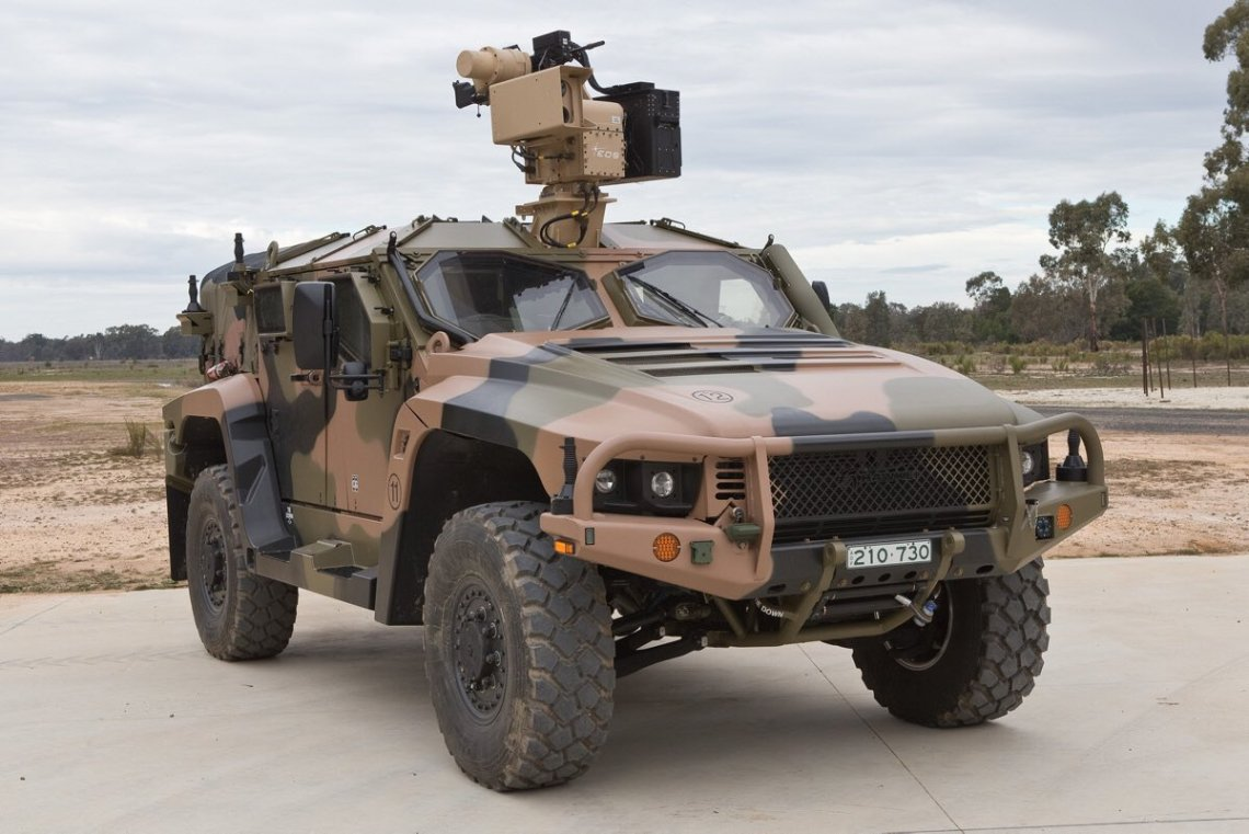 Australian Army Bushmaster and Hawkei to Receive 251 new Remote Weapon Stations