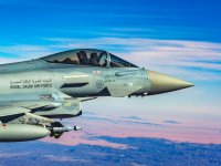 The British government's decision to resume issuing arms export licenses for Saudi Arabia, will allow additional sales to be concluded, including of additional Typhoon fighters.
