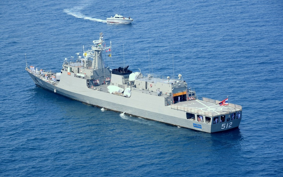 Royal Thai Navy Pattani-class offshore patrol vessels