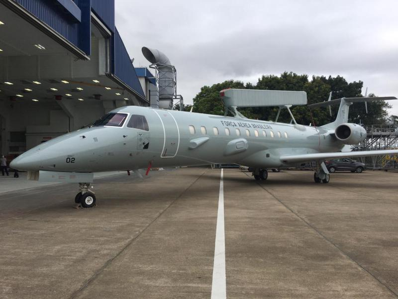 Embraer Completes Upgrade of First Brazilian Air Force E-99M AEW Aircraft