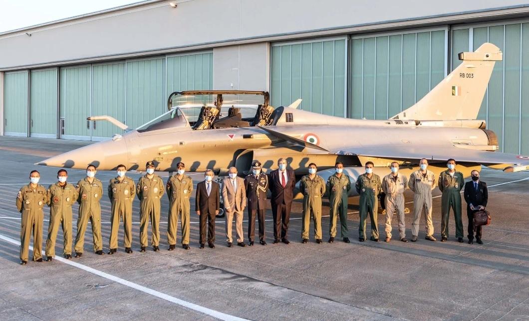Indian Air Force Dassault Rafale Multirole Fighter Aircraft