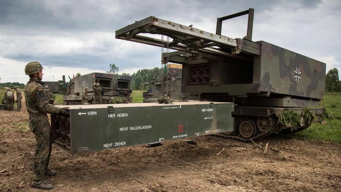 German Army MARS II Multiple Launch Rocket System