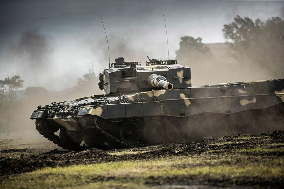 Hungarian Armed Forces Leopard 2A4HU Main Battle Tank