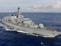 Royal Navy HMS Lancaster Duke class Type 23 Frigate