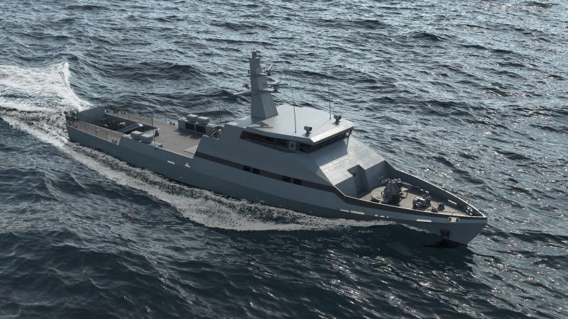 Israel Shipyards OPV 45 Offshore Patrol Vessels