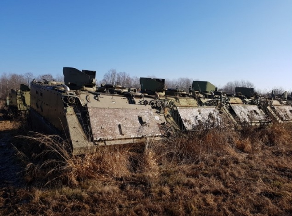 Italian Armed Forces to Dismantle 500 Retired M-113 Armored Personnel Carriers