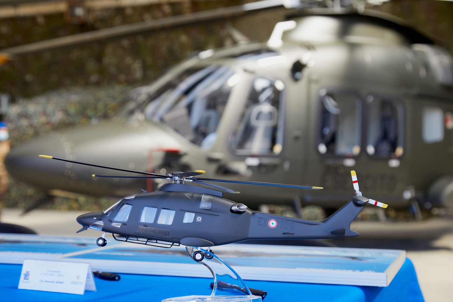 Italian Army AW169 Basic Training Helicopter
