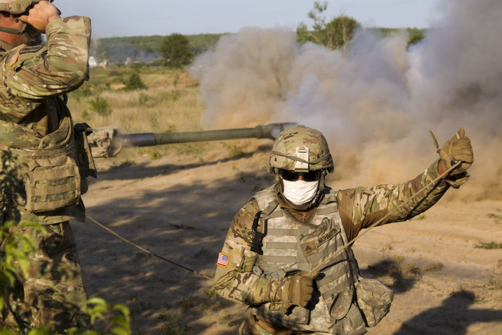 Michigan National Guard Soldiers Conducts Direct Fire Training at Northern Strike 20 B-roll
