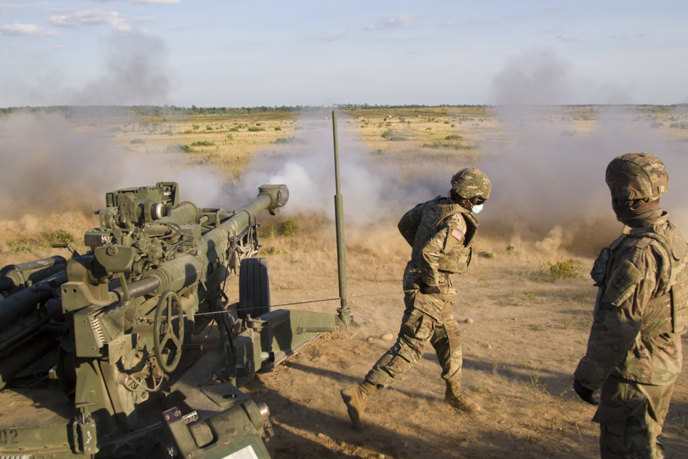 U.S Army • Howitzer Chief – Leads Gunner Team • Northern Strike 20 • July 27, 2020