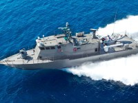 Shaldag-class patrol boat with Spike ER surface to surface missiles