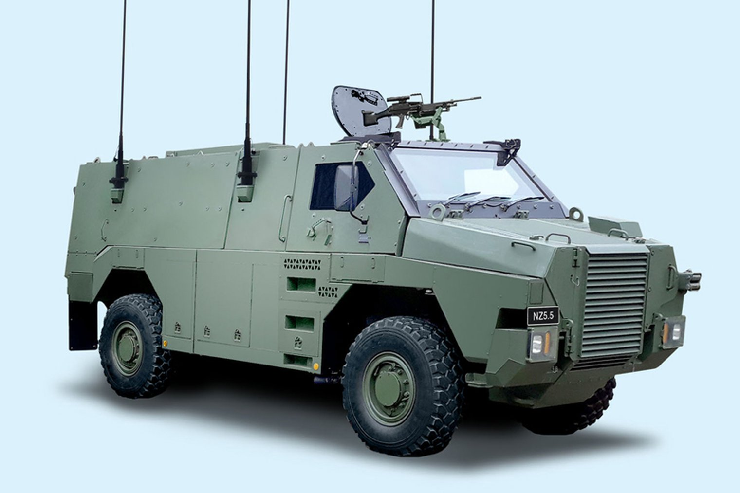 New Zealand Army to Buy 43 Bushmaster NZ5.5 Protected Vehicles