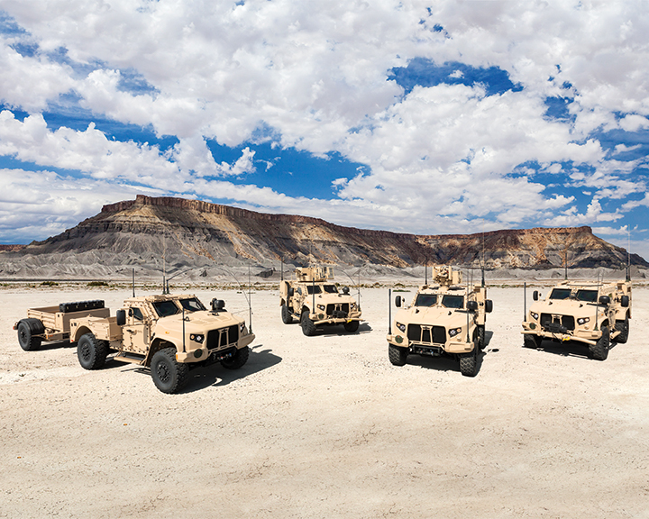 Oshkosh Defense Joint Light Tactical Vehicles (JLTVs) Family