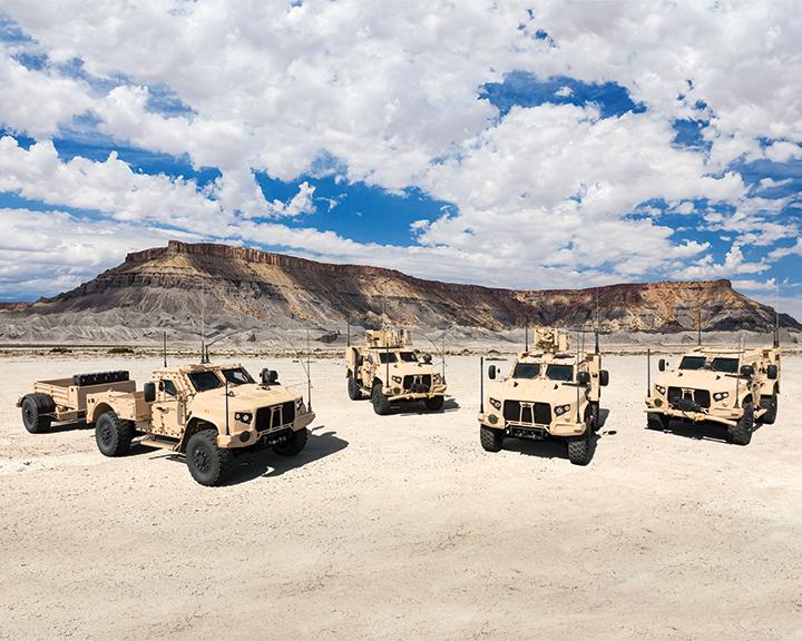 Oshkosh Defense Joint Light Tactical Vehicles (JLTVs) Family