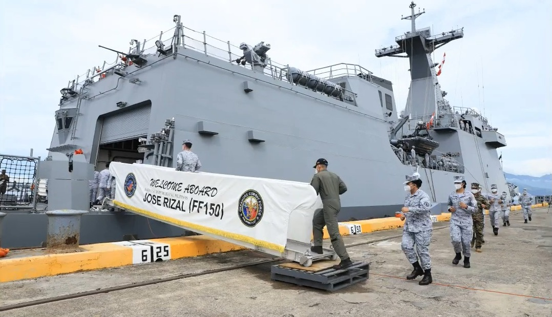 Philippine Navy BRP Jose Rizal
