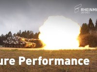 Rheinmetall Tests of New 130 mm Smoothbore Gun