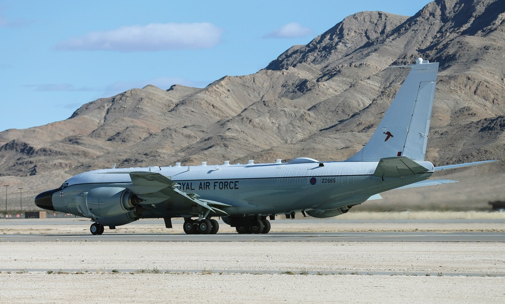 Royal Air Force Boeing RC-135W Rivet Joint Aircraft