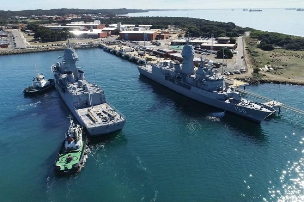 Royal Australian Navy's Anzac Class Frigates Sonar Upgrade Almost Complete