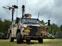 Royal Netherlands Army Receives First Bushmaster 4x4 Electronic Warfare Vehicle