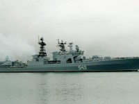 Russian Navy Destroyer Marshal Shaposhnikov