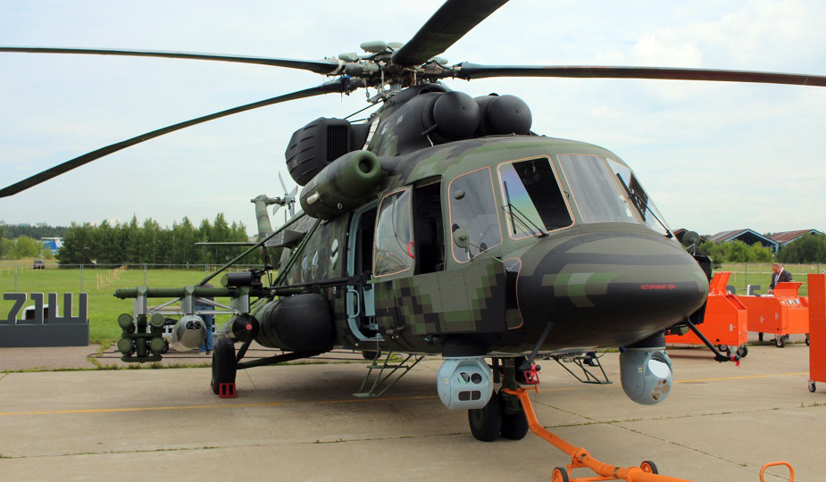 Russia's New Mi-8AMTSh-VN Special Operations Helicopter Being Flight Tested