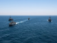 Saudi, UK, U.S. Navies Conduct Mine Countermeasures Interoperability Training