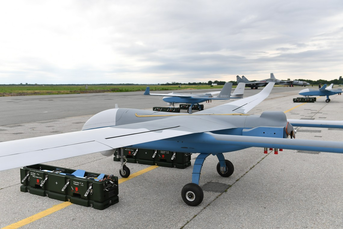 Serbia Unveils Six Chinese-Made CH-92A Unmanned Combat Aerial Vehicle (UCAV)