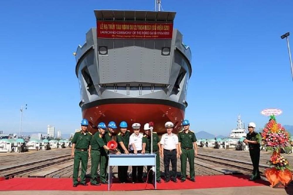 Song Thu Corporation Launches Third Vietnam People's Navy Roro 5612 Landing Ship