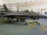 US Air Force 310th Fighter Squadron Changes F-16 Paint Scheme to Single Color