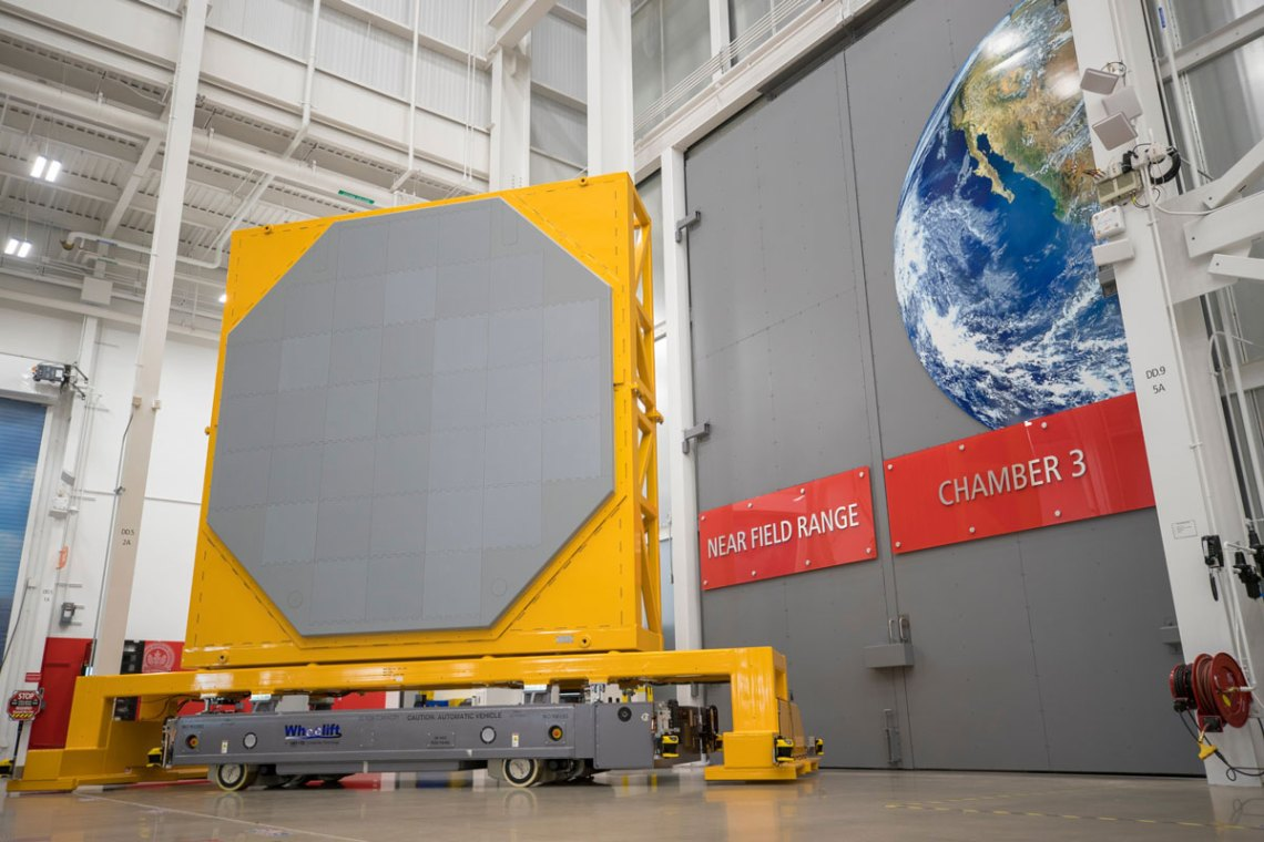 The SPY-6 radar in production at Raytheon's radar development facility in Andover, Massachusetts. Image: Raytheon