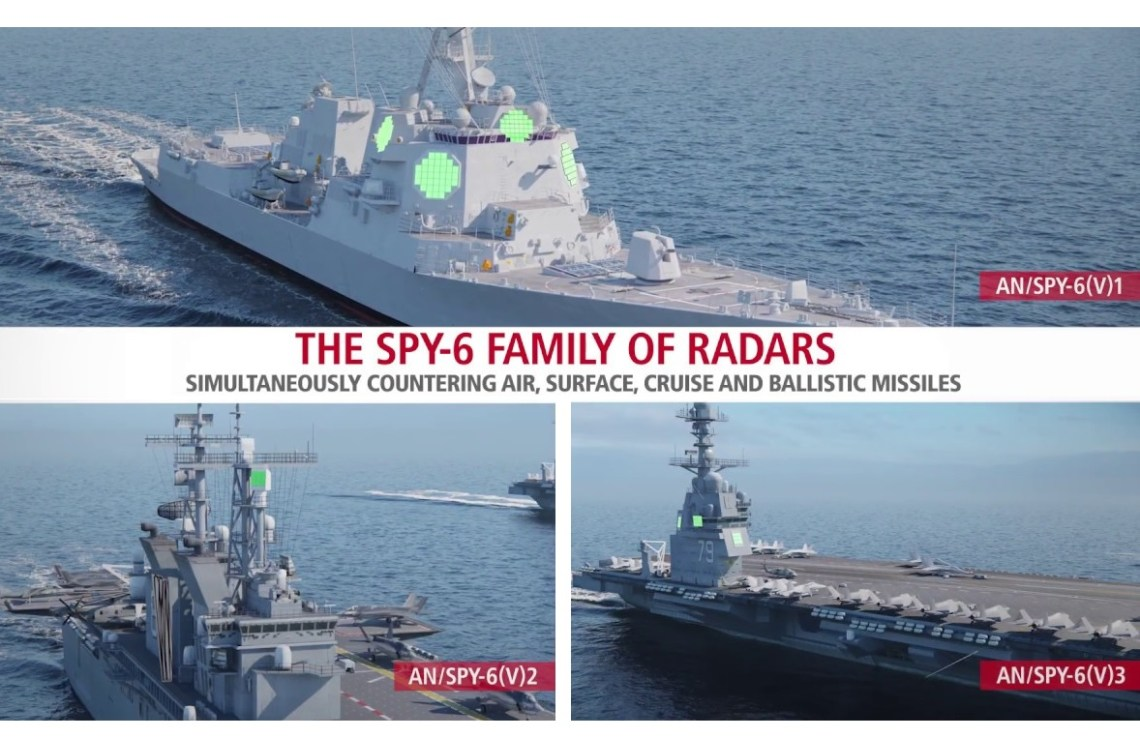 Raytheon Technologies SPY-6 family of US Navy radars