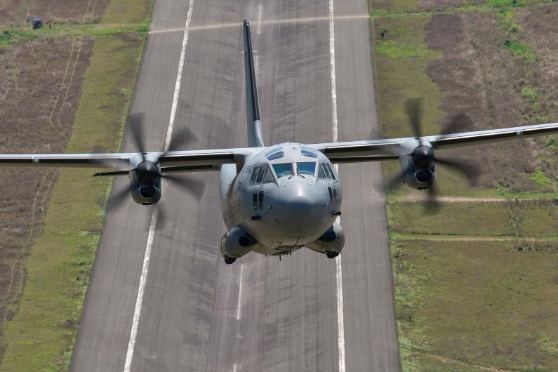 Leonardo C-27J Spartan Military Transport Aircraft