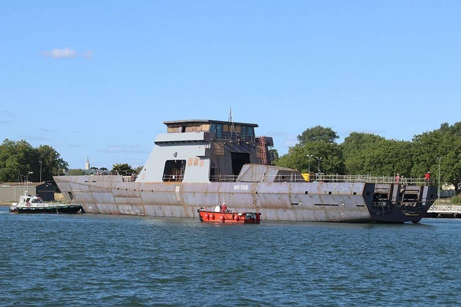 Argentinian Navy ARA Piedrabuena Begins Sea Trials