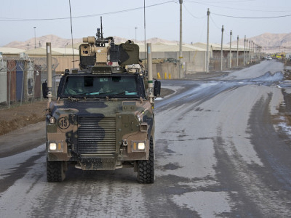 Australia Looks at Protecting Armored Vehicles with Water