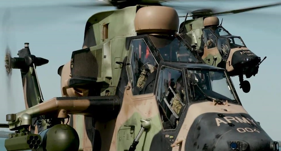 Australian Army 1st Aviation Regiment Eurocopter Tiger Attack Helicopters
